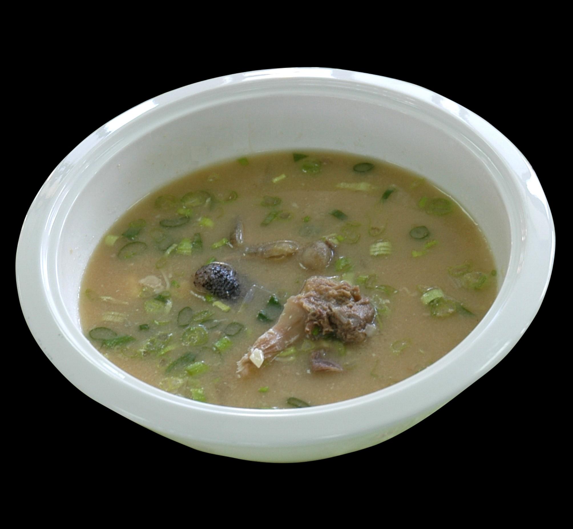 味噌魚頭湯