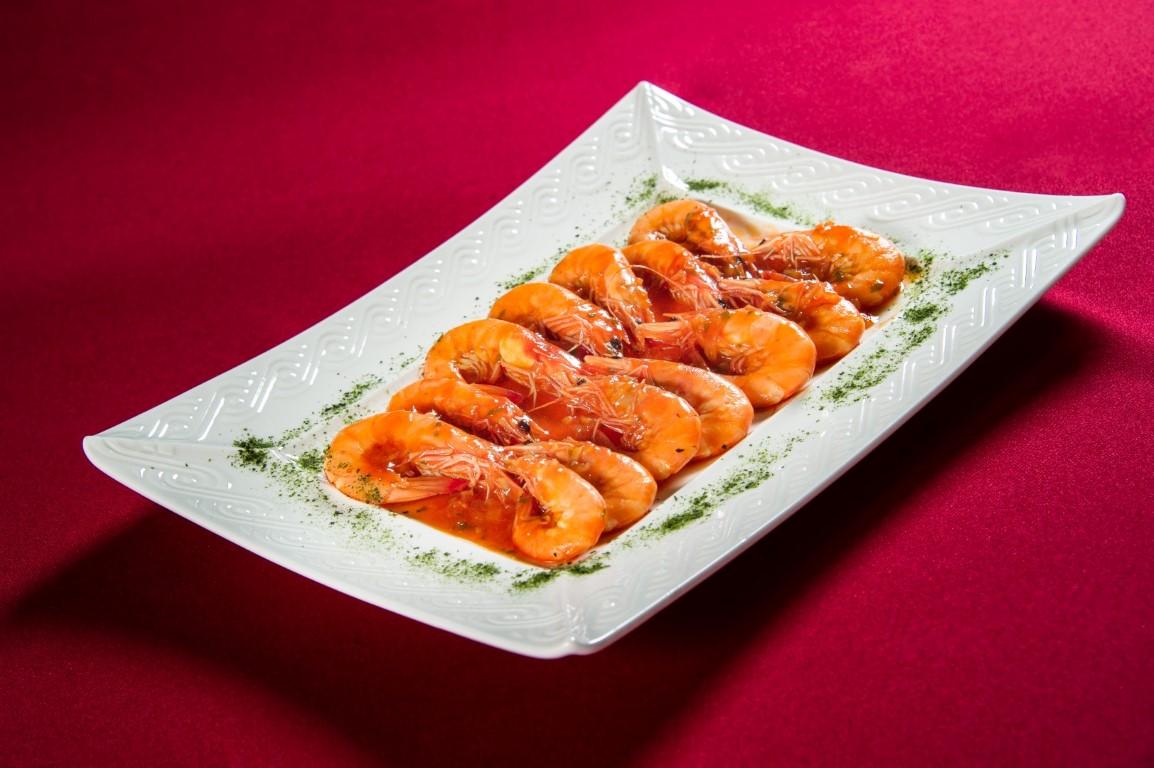 紅醬炒白蝦