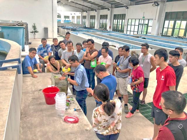 淡水觀賞魚繁養殖入門班